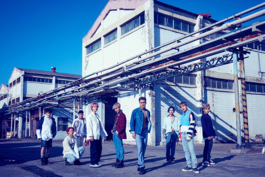 Super Junior 9th Album - Time Slip