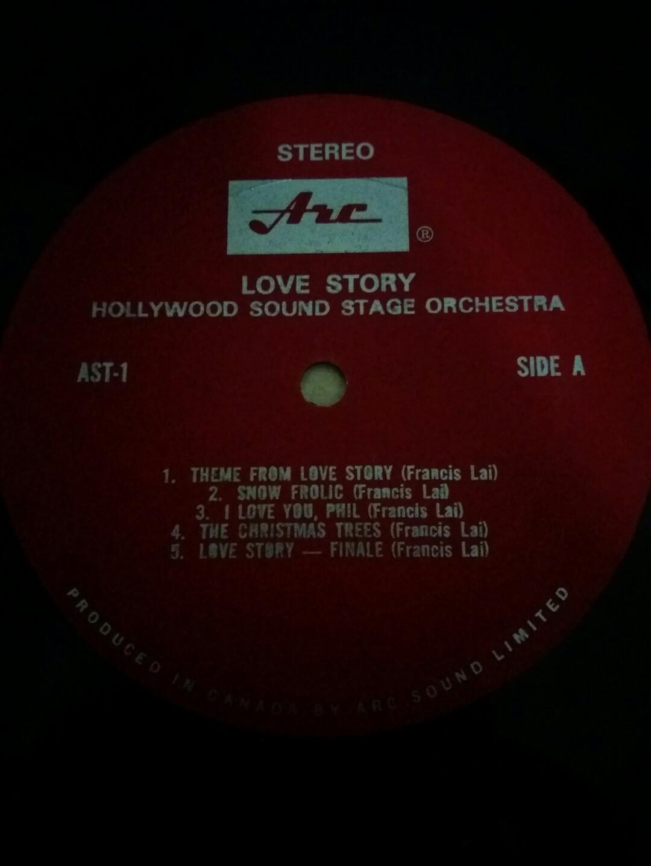 Super  Rare Original LP Love Story In Brilliant Stereo Sound