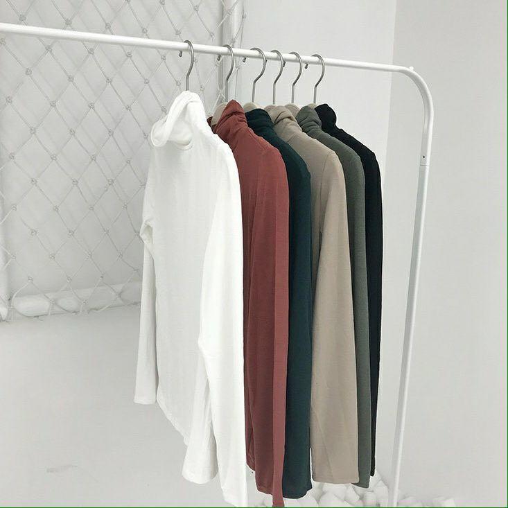 [Top] Long sleeved turtleneck