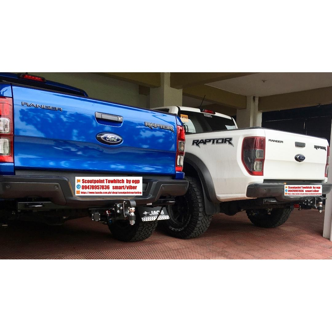 Tow Hitch Receiver Ford Ranger Raptor Car Parts Accessories Body Parts And Accessories On Carousell