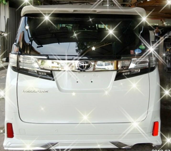 TOYOTA VELLFIRE ZG 2.5 RECON~2015 ON THE ROAD PRICE RM249,888.88☺HP0122367272☺🙏