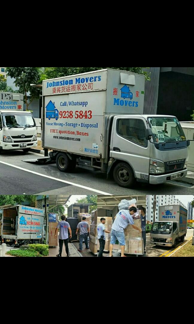 Transportation Lorry mover service Direct Whatsapp 92385843 JohnsionMover