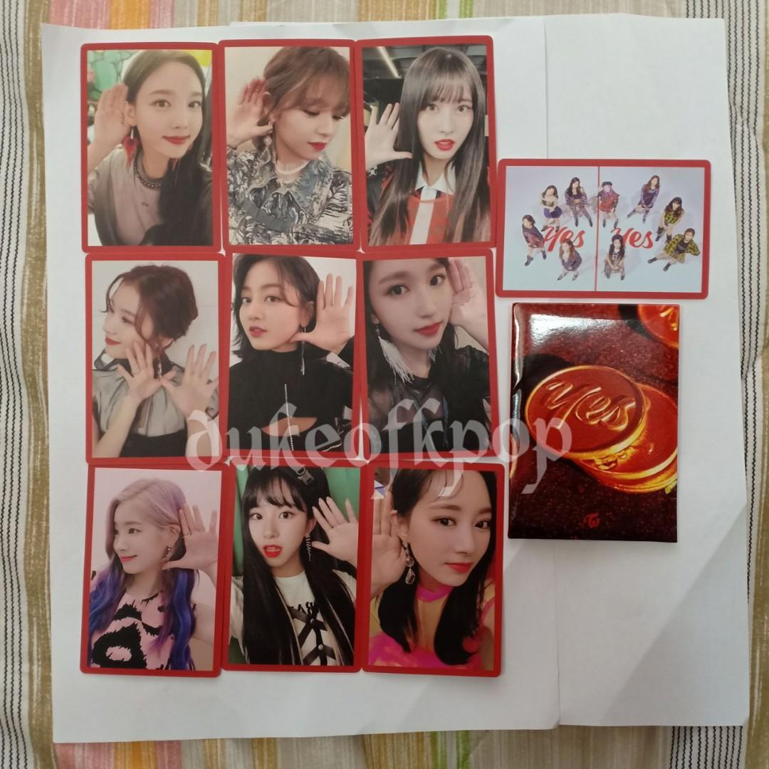 [WTS] Twice preorder photocards YES OR YES VERSION C