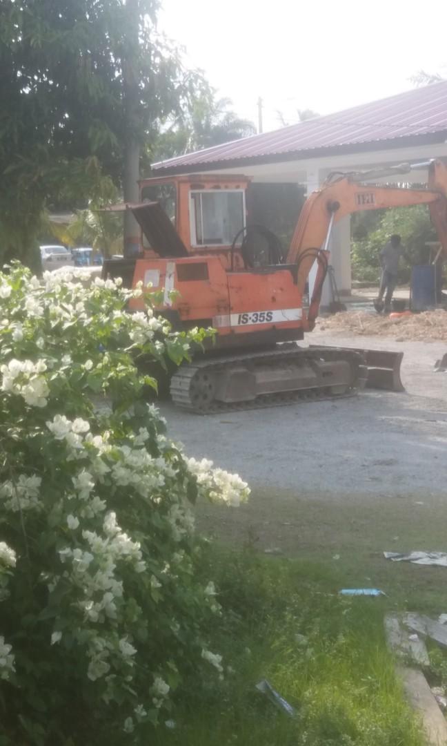 Urgent nak let go Mini Excavator