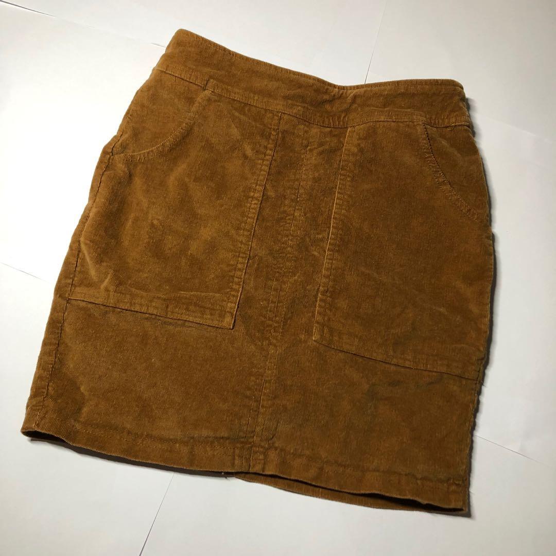 VENOM   Camel/Caramel/Mustard Faux Crushed Velvet Mini Skirt
