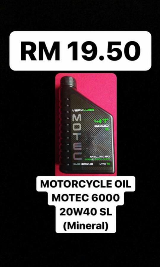 VX MOTORCYCLE ENGINE OIL