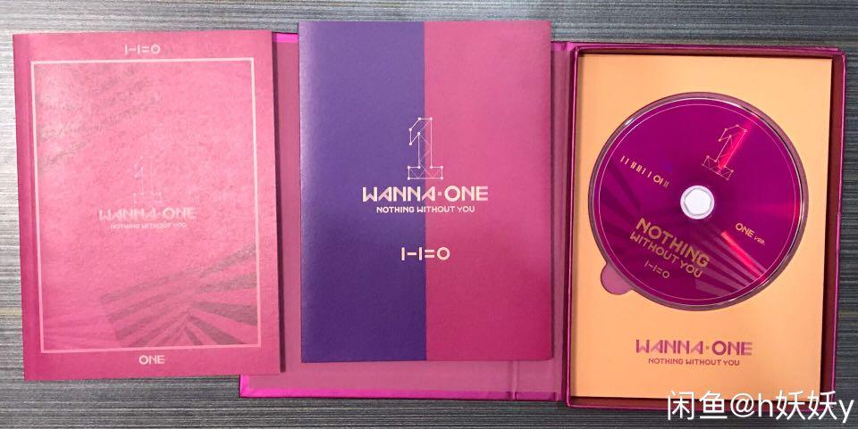 Wanna One unsealed album to be one/nothing without you/power of destiny