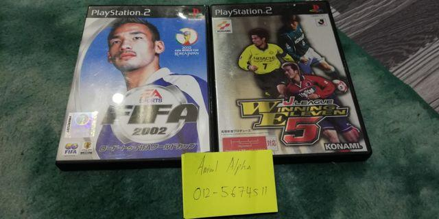PS2 Fifa & WE5