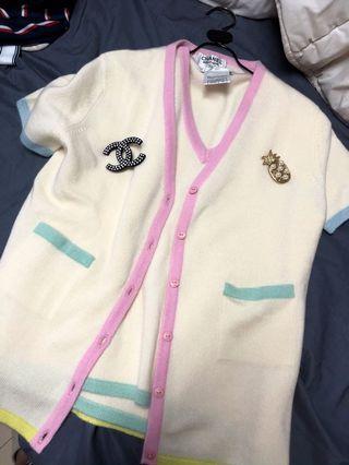 Chanel cashmere 兩件式