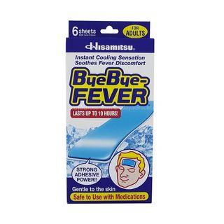 Bye-Bye Fever Adults (2 boxes with  6 sheets/box)