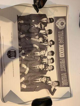 EXO The first class poster (OFFICIAL)