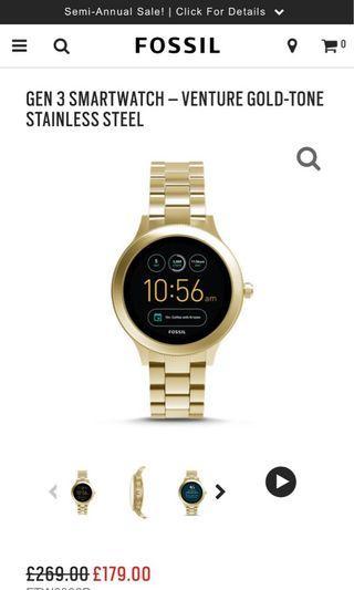 fossil smart watch gen3