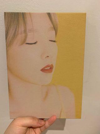 Taeyeon My Voice 1st album with photocard