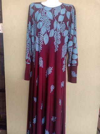 Jubah Dress Lycra