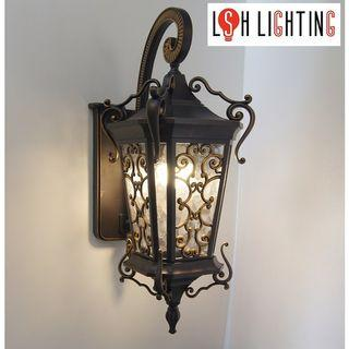 LSH Lighting Classic Antique Outdoor Wall Light 18544S/1W