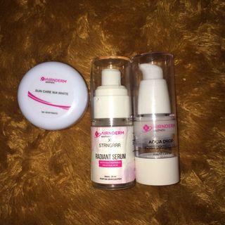 Airin skin care/ radiant x strngrrr serum