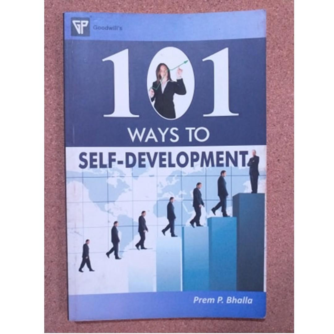 101 Ways to Self Development  (Prem Bhalla) / Personal Development and Self Help Book