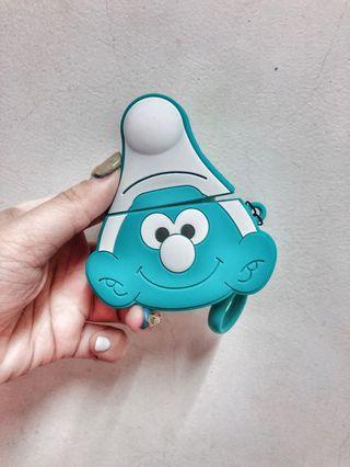 現貨藍色小精靈AirPods/airpods2保護套保護殼