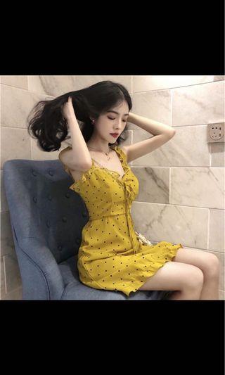 修身韓系連身裙