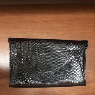 Clutch, dompet, tas pesta hitam
