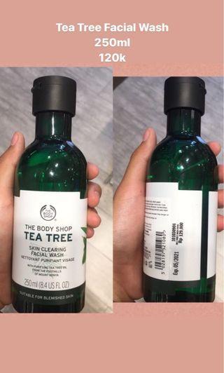Tea tree oil facial wash