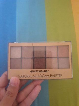 Natural shadow palette