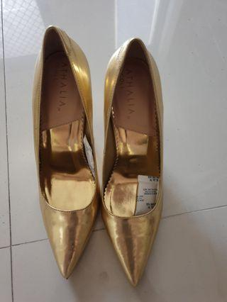 Heels Gold Athalia 39