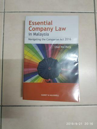 Company law (reprinted version)