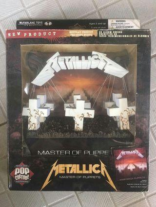 "Statue Cover Metallica ""Master of Puppets"""