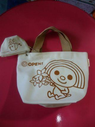 OPEN  醬~帆布手提袋