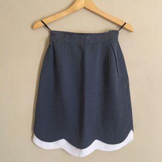 Scallop Polka Skirt