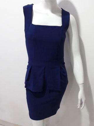 Mini dress brokat darkblue