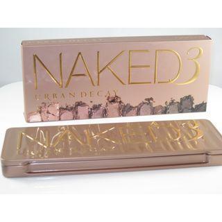 (ORI) Urban Decay Naked 3 Eyeshadow Palette #XMAS50
