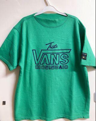 Vintage Vans 古著 上衣 Tee T-shirt 義大利製