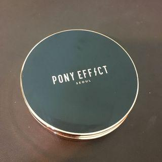 PONY EFFECT絲絨保濕蜜粉粉餅