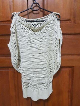 #18sale Knitted Top (Beige)