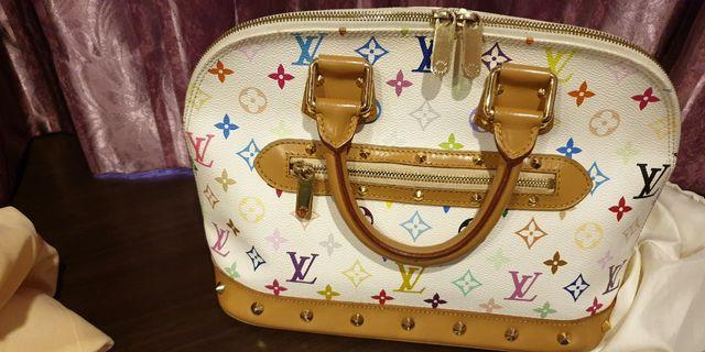 Louis Vuitton Multicolore White