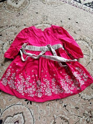 Poney Dress 1-2 yrs