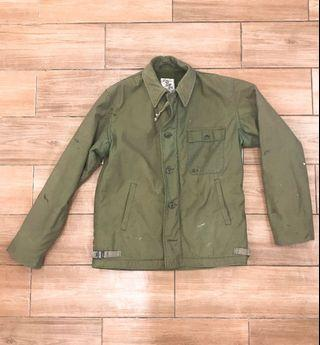 usn a2 deck jacket