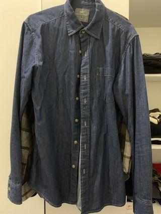 NET牛仔襯衫