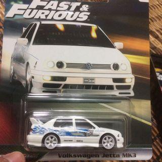 Hotwheels Fast & Furious VW Jetta