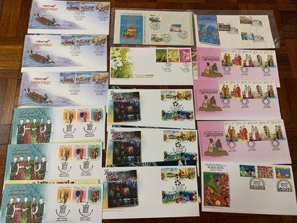 Culture in Malaysia first day covers x 16