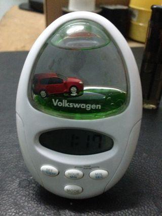 Volkswagen timer alarm clock
