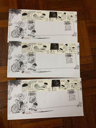 Lat first Day covers