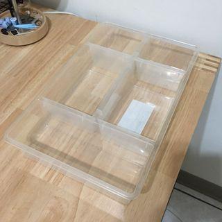 IKEA 透明塑料儲物格