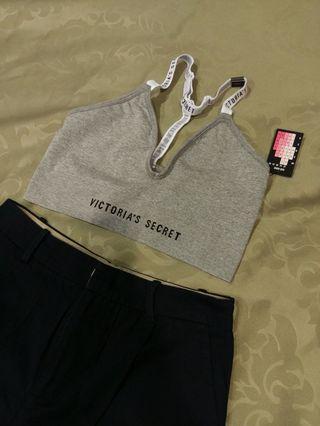 $全新)原價:1680 維多利亞的秘密灰色運動內衣