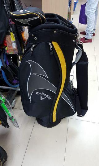 Golf Bag and irons set