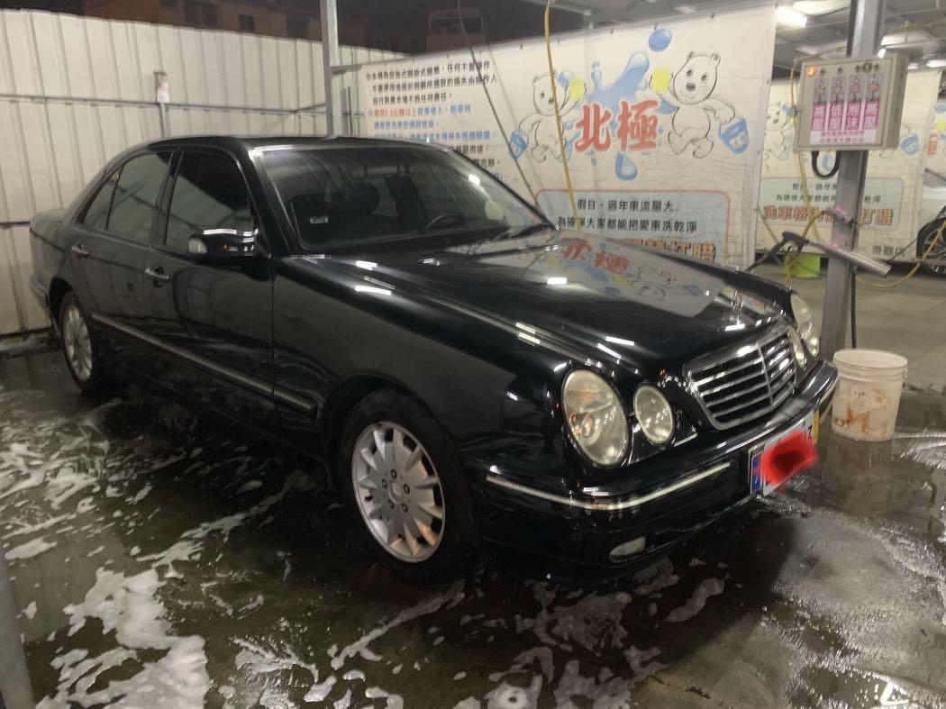 1999賓士w210 E240 2398cc 兩千稅金