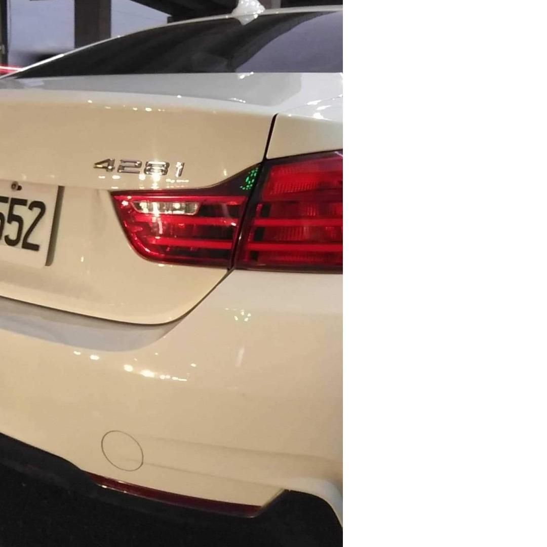 2014-BMW 428I白色雙門實跑88000