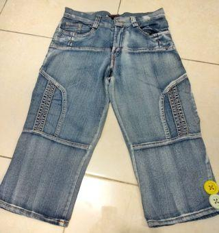 Celana jeans selutut #VisitSingapore